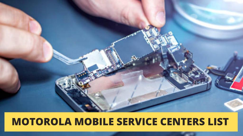 Authorized Motorola Mobile Service Center in Kolkata